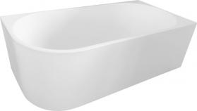 Aqualine TIBERA R volně stojící vana, 170x80 cm, bílá E1015