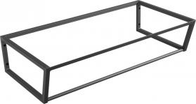 Sapho SKA konstrukce pod umyvadlo/desku 900x200x460mm, černá mat SKA203