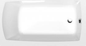 Polysan LILY obdélníková vana 120x70x39cm, bílá 25111