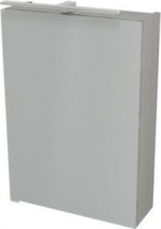 Sapho RIWA galerka s LED osvětlením, 50x70x17 cm, bezdotykový senzor, dub stříbrný RW054-S