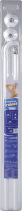 Aqualine Závěsová tyč rohová 80x80cm, bílá 0201011