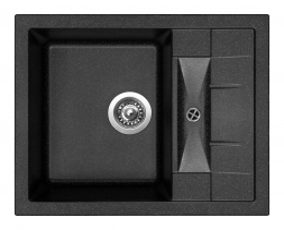 Granitový dřez Sinks CRYSTAL 615 Granblack ACRCR61550030