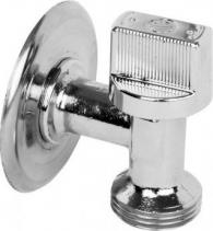 Arco ARCO pračkový ventil do malých prostor L-86 1/2'x3/4', chrom L-86