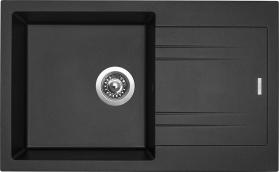 Granitový dřez Sinks LINEA 780 N Metalblack SIGLI780480N74