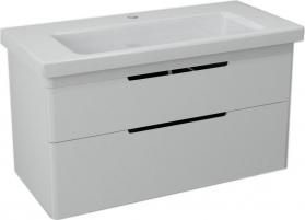 Sapho ELLA umyvadlová skříňka 95, 7x50x42, 8cm, bílá (70100) EL100-3030
