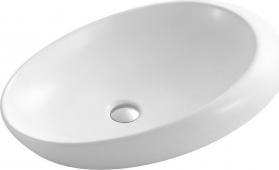 Sapho CARITA keramické umyvadlo 67x46x16, 5 cm, na desku CR613