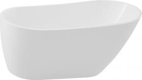 Aqualine TISA volně stojící vana, 150x75 cm, bílá E1575
