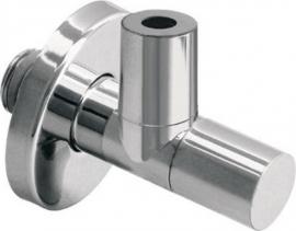 Sapho MINIMALL rohový ventil s matkou, 1/2'x 3/8', chrom 0599OT24S7
