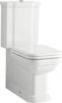 Kerasan WALDORF WC kombi, spodní/zadní odpad, bílá WCSET04-WALDORF