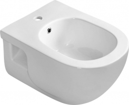 Sapho BRILLA bidet závěsný, 36, 5x53 cm, bílá 100624
