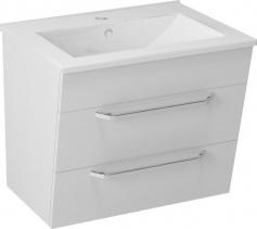 Sapho KALI umyvadlová skříňka 59x50x45cm, bílá (56062) KA060-3030