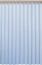 Aqualine Závěs 180x200cm, vinyl, modrá 0201004 M