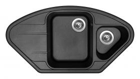 Granitový dřez Sinks LOTUS 960.1 Metalblack ACRLT960510174