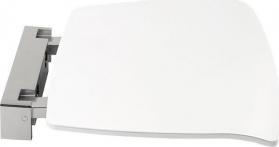 Polysan Sklopné sedátko do sprchového koutu 37x38cm, bílá 92877