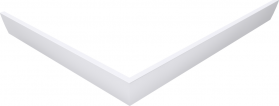 Polysan VARESA 100x80 rohový panel, pravý 71699