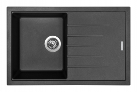 Granitový dřez Sinks BEST 780 Granblack ACRBE78050030