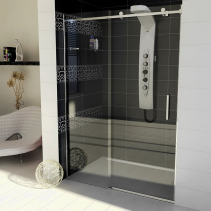 Gelco DRAGON sprchové dveře 1300mm, čiré sklo GD4613