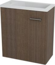 Sapho LATUS III umyvadlová skříňka 45x50x23, 2cm, Borovice rustik 55547