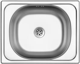 Nerezový dřez Sinks CLASSIC 500 M 0,5mm matný STSCLM5004005M