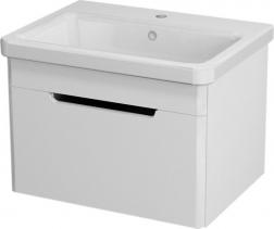 Sapho ELLA umyvadlová skříňka 56, 5x39x43cm, bílá (70060) EL060-3030