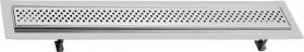Sapho FLOW 97 nerezový sprchový kanálek s roštem, 970x150x82 mm FP168