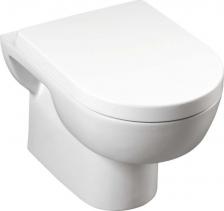 Aqualine MODIS závěsná WC mísa, 36x52 cm, bílá MD001