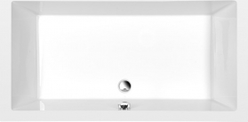 Polysan DEEP hluboká sprchová vanička s konstrukcí, obdélník 150x75x26cm, bílá 72386