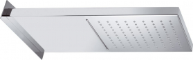 Sapho Hlavová sprcha s kaskádou, 500x200x30mm, leštěná nerez DC562