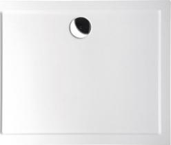 Polysan KARIA sprchová vanička z litého mramoru, obdélník 90x80x4cm, bílá 63511