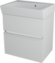 Sapho LARGO umyvadlová skříňka 59x60x41cm, bílá LA601