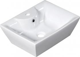 Alice Ceramica QUADRO PLUS keramické umyvadlo 49x17, 5x38cm, na desku 25110301