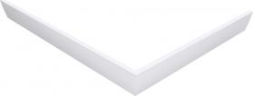 Polysan KARIA 90x70 rohový panel, výška 11 cm, levý 44812L