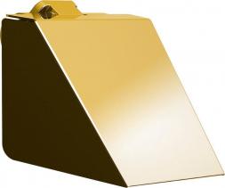 Sapho SOUL držák toaletního papíru s krytem, zlato 164943