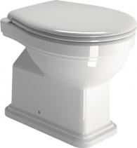 GSI CLASSIC WC mísa stojící, 37x54 cm, zadní odpad, bílá ExtraGlaze 871111