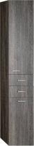 Aqualine ZOJA/KERAMIA FRESH skříňka vysoká s košem 35x184x29cm, mali wenge 51231