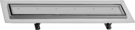 Sapho FLOW 77 nerezový sprchový kanálek s roštem pro dlažbu, 770x150x82 mm FP214