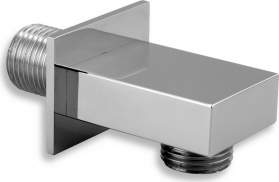Novaservis Stěnový vývod sprchy hranatý chrom D/HRANA,0