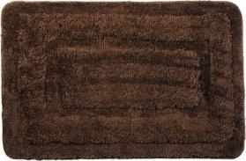 Ridder JUWEL předložka 60x90cm s protiskluzem, polyester, hnědá 758308