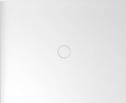 Polysan MIRAI sprchová vanička z litého mramoru, obdélník 100x80x1, 8cm, levá, bílá 73169