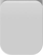 Isvea SOTT AQUA WC sedátko Soft Close, duroplast, bílá 40Q50500I