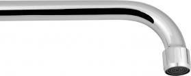 Sapho Výtoková hubice tvar S, prům. 18mm, L 334mm, 3/4', chrom 15S300
