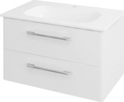 Sapho PURA umyvadlová skříňka 77x50, 5x48, 5cm, bílá PR081