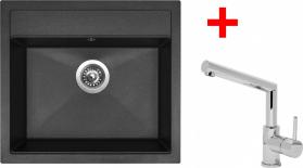 Granitový dřez Sinks SOLO 560 Granbl.+MIX 350P ACRS56030M350P