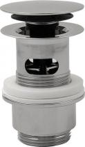 Omp Tea Uzavíratelná kulatá výpusť pro umyvadla s přepadem Click Clack, V 32-52mm, chrom 8530.360.5