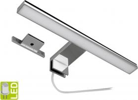 Aqualine SERAPA LED svítidlo 5W, 230V, 300x40x100mm, plast, chrom SA147