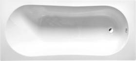 Aqualine JIZERA vana 150x70x39cm bez nožiček, bílá G1570