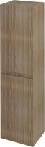 Sapho FILENA vysoká skříňka 35x140x30cm, dub FID3540D