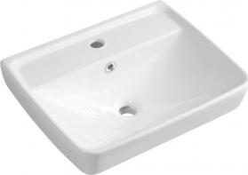 Aqualine DURU keramické umyvadlo 50x40 cm, bílá TU0350