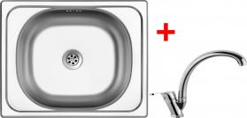 Nerezový dřez Sinks CLASSIC 500 5M+EVERA CL5005MEVCL