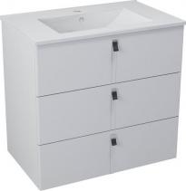 Sapho MITRA umyvadlová skříňka, 3 zásuvky, 89, 5x70x45, 2 cm, bílá MT111